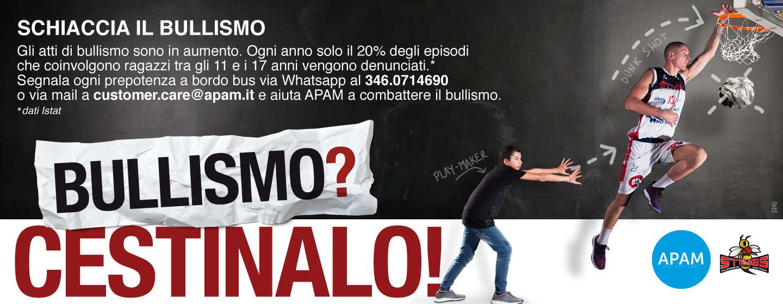 Apam presentata la nuova campagna contro il bullismo e vandalismo