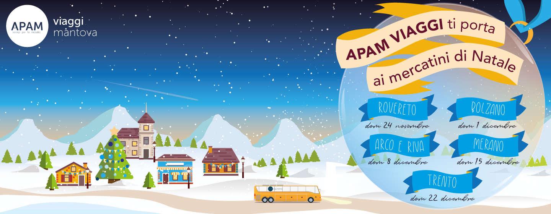 Apam viaggi takes you to Christmas markets
