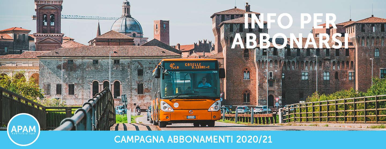 CAMPAGNA ABBONAMENTI 2020/21: INFO PER ABBONARSI