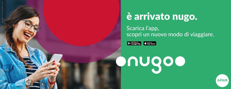 Con l'app Nugo acquistabili tutte le tipologie di biglietto