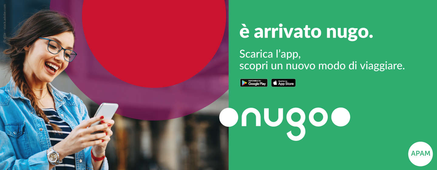 By Nugo app it is possible to purchase any kind of ticket