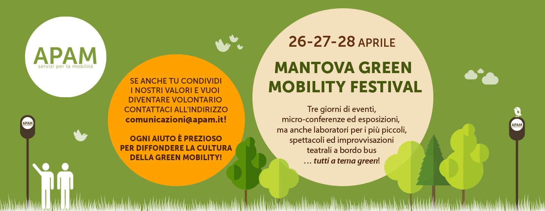 PARTECIPA ANCHE TU AL MANTOVA GREEN MOBILITY FESTIVAL!